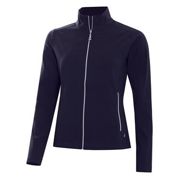 Green Lamb Ladies Active Stretch Soft Shell Jacket Navy