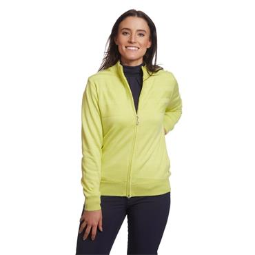 Green Lamb Ladies Gabriella Windbreaker Cardigan Limeade