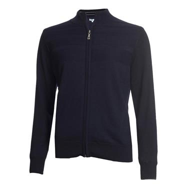 Green Lamb Ladies Gabriella Windbreaker Cardigan Navy