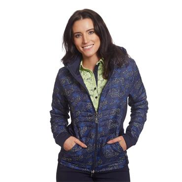 Green Lamb Ladies Justine Padded Jacket Navy