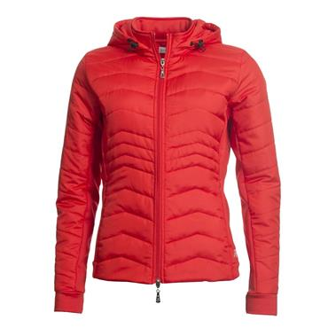 Green Lamb Ladies Justine Padded Jacket Rouge