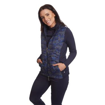 Green Lamb Ladies June Padded Gilet Navy