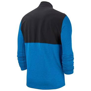 Nike Gents Dri-Fit Half Zip Core Top Blue