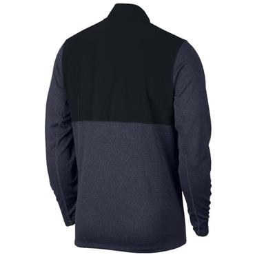 Nike Gents Dry Core 1/2 Zip Top Obsidian Blue - Black