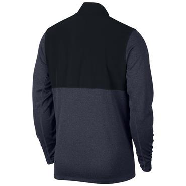 Nike Gents Dry 1/2 Zip Core Top Obsidian