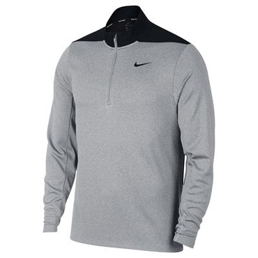 Nike Gents Dry ½ Zip Core Top Wolf Grey 012