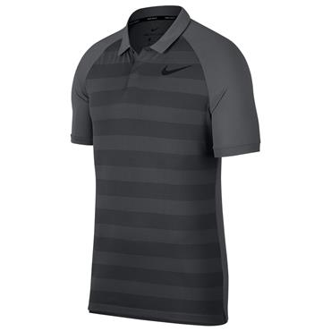 Nike Gents Zonal Cooling Polo Shirt Dark Grey (021)