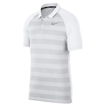 Nike Gents Zonal Cooling Polo Shirt White