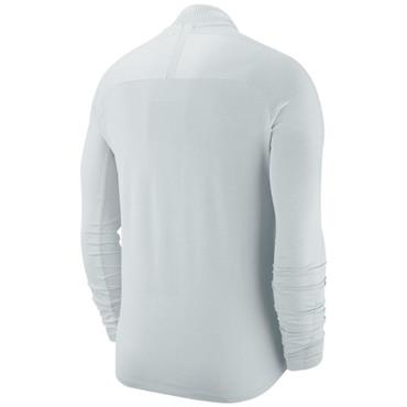 Nike Gents Dri-Fit 1/2 Zip Seemless Top Platinum