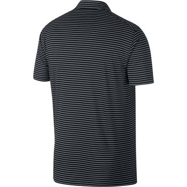 Nike Gents Dri Fit Essential Stripe Polo Shirt Black