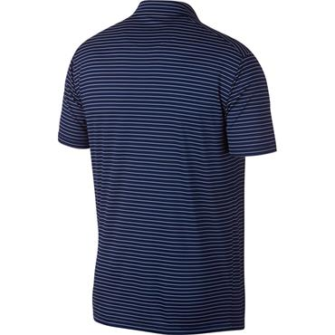 Nike Gents Dri Fit Essential Stripe Polo Shirt Blue