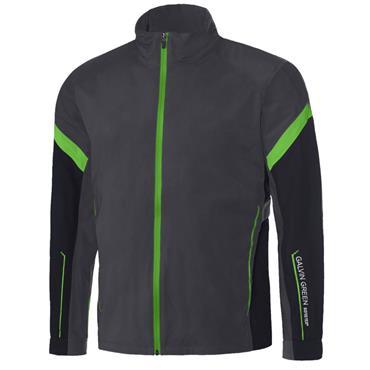 Galvin Green Gents Allen Waterproof GORE-TEX Full Zip Jacket Iron - Black - Green