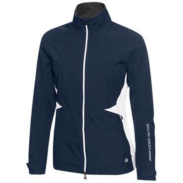 Galvin Green Ladies Angel Waterproof GORE-TEX® Lined Jacket Navy - White