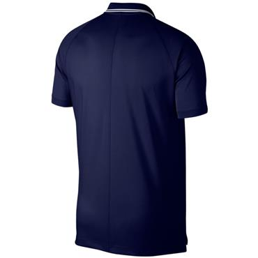 Nike Gents Essential Tipped Dry Polo Shirt Blue