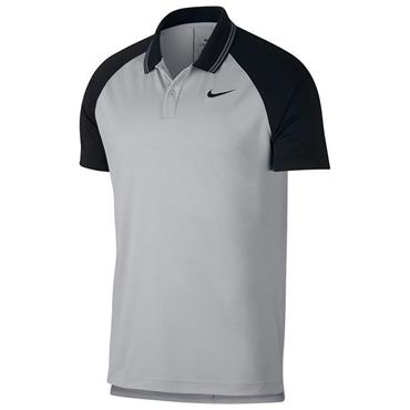 Nike Gents Essential Tipped Dry Polo Shirt Grey