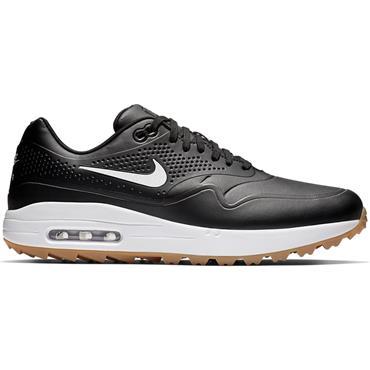 Nike Gents Air Max 1G Golf Shoes Black - Brown