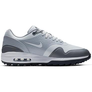 Nike Gents Air Max 1G Golf Shoes Platinum - Grey