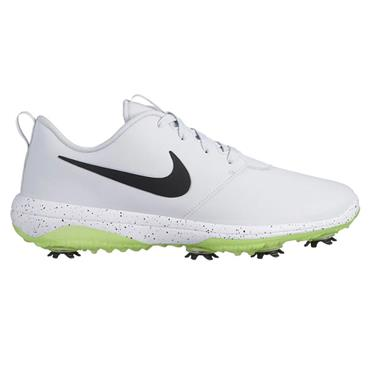 Nike Gents Roshe G Tour Golf Shoes Platinum - Black - Volt
