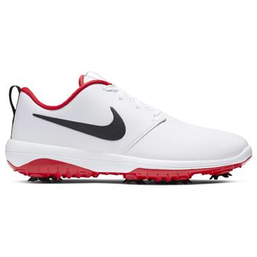 Nike Gents Roshe G Tour Golf Shoes White - Red