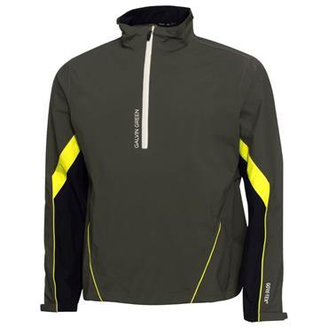 Galvin Green Gents Armando Waterproof GORE-TEX Paclite 1/2 Zip Jacket Beluga - Black - Lemonade