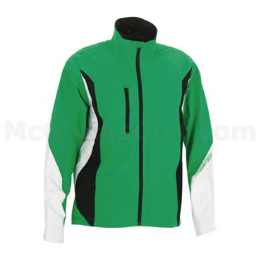 Galvin Green Gents Aron Waterproof GORE-TEX Paclite Jacket Emerald Green - White