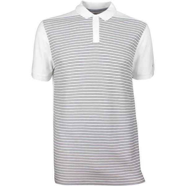 df3ba002 Nike Gents Dri-Fit Striped Polo Shirt White | Golf Store
