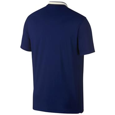 Nike Gents Dri Vapor Solid Polo Shirt Blue