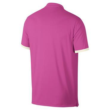 Nike Gents Dri Vapor Solid Polo Shirt Fuchsia