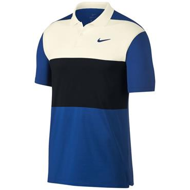 Nike Dri Vapor Colourblock Polo Shirt Black