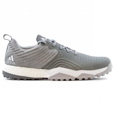 adidas Gents Adipower S4 Spikeless Golf Shoes Grey - White