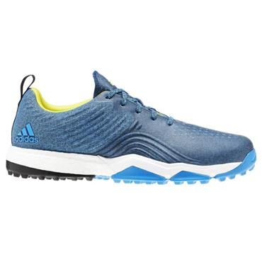 adidas Gents Adipower 4orged S Spikeless Golf Shoes Blue - Black
