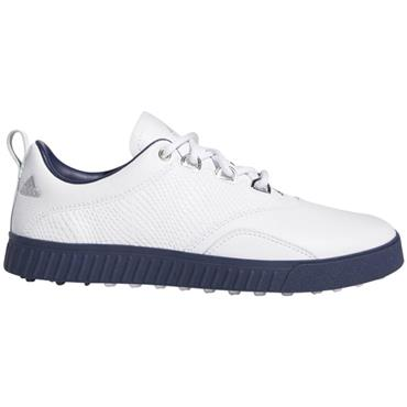 adidas Ladies Adicross PPF Golf Shoes White - Indigo