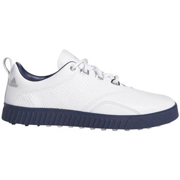 adidas Ladies Adicross PPF Golf Shoes White - Indigo - Silver