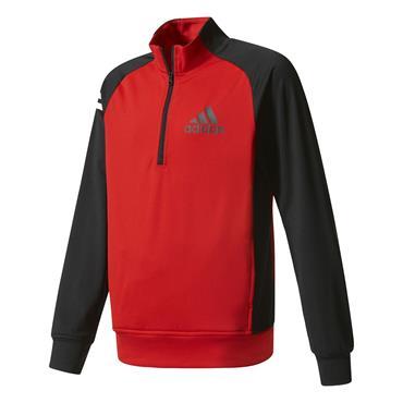 Adidas Junior - Boys Layering Jacket Scarlet - Black