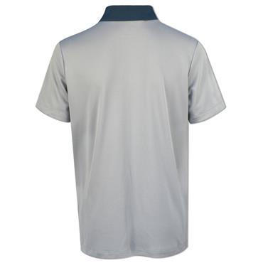 adidas Junior - Boys 3-Stripe Polo Shirt Mid Grey