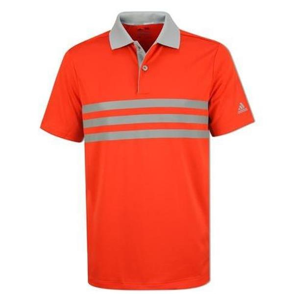 c4e1580ea adidas Junior - Boys 3-Stripe Merch Polo Shirt Energy | Golf Store