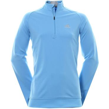 Adidas Gents Club 1/4 Zip Top Joy Blue