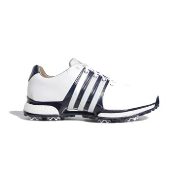 adidas Gents Tour 360 XT Wide Fit Shoe White- Navy