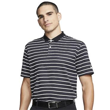 Nike Gents Dri-Fit Victory Stripe Polo Grey