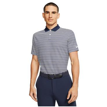 Nike Gents Dri-Fit Victory Stripe Polo Navy