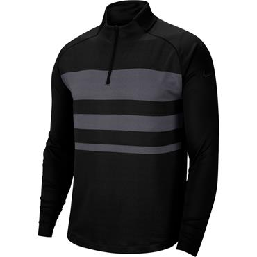 Nike Gents Dri-Fit Vapor Zip Top Black