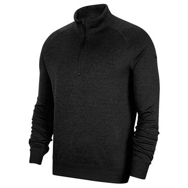 Nike Gents Dri-Fit Vapor Zip Top Black 010