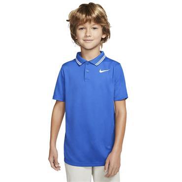 Nike Junior - Boys Dri-Fit Victory Polo Shirt Royal Blue