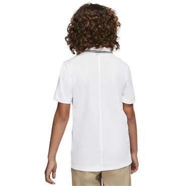 Nike Junior - Boys Dri-Fit Victory Polo Shirt White