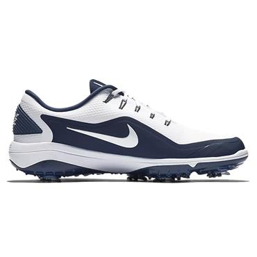 Nike Gents React Vapor 2 Golf Shoes White - Navy