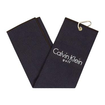 Calvin Klein Golf Waffle Towel Navy