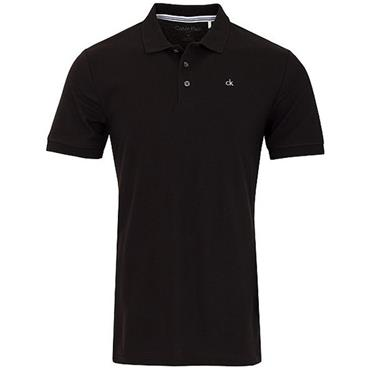 Calvin Klein Golf Gents Midtown Cotton Polo Black