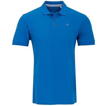 Calvin Klein Golf Gents Midtown Cotton Polo Blue