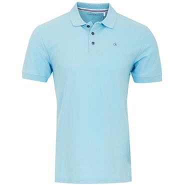 Calvin Klein Golf Gents Midtown Cotton Polo Sky Blue