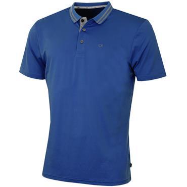 Calvin Klein Golf Gents Madison Jersey Tech Polo Royal Blue
